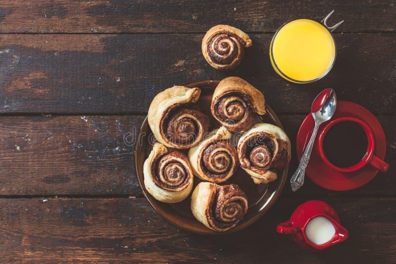 датское печенье стоковое изображение