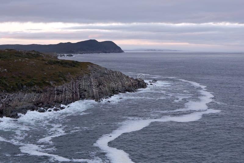 Атлантическая береговая линия стоковое фото