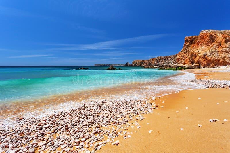 Атлантический океан - Sagres Алгарве Португалия стоковое фото rf