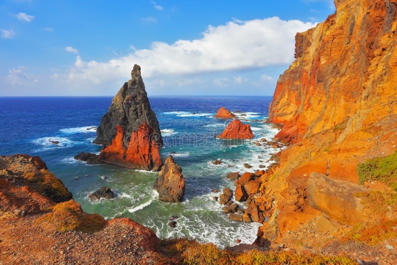 Атлантический остров Мадейры стоковые изображения