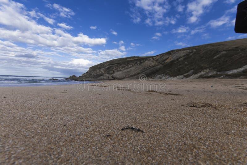 Атлантический пляж стоковое изображение rf