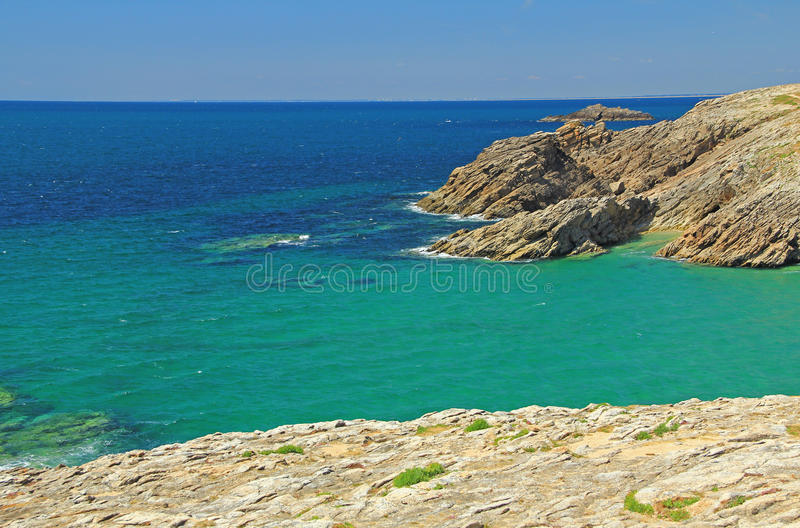 Атлантическое одичалое побережье стоковое изображение rf