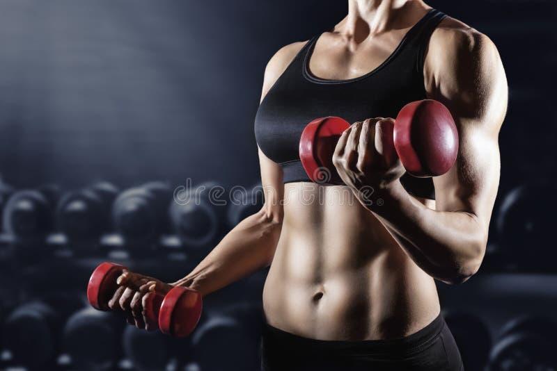 атлетическая девушка стоковая фотография rf