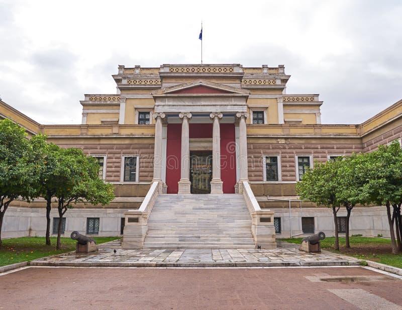 Афины, Греция, национальный музей истории стоковое изображение