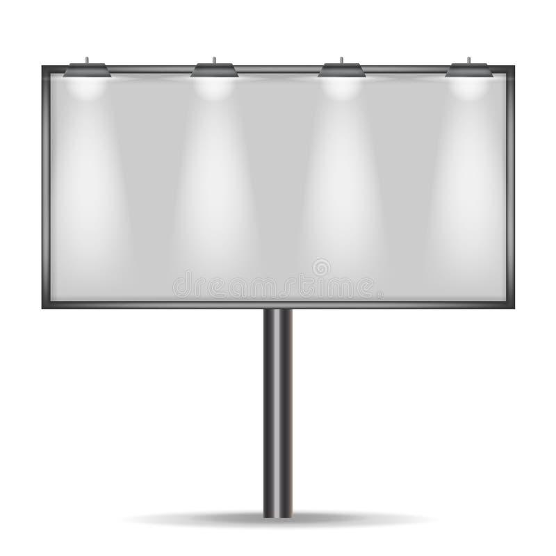 Афиша для рекламировать вектор стоковое изображение rf