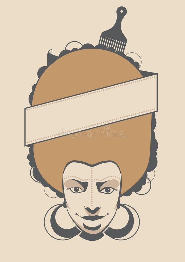 африканская женщина бесплатная иллюстрация