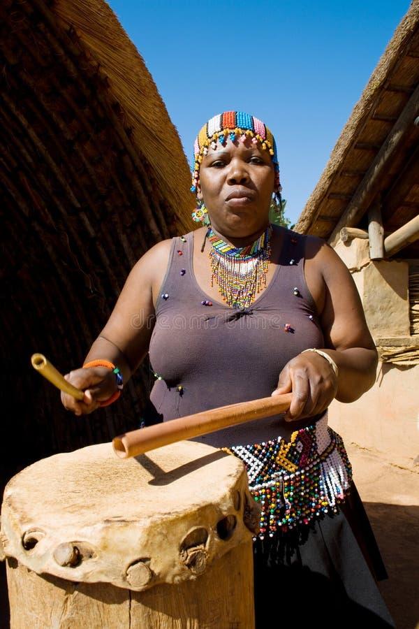 африканская женщина стоковое фото rf