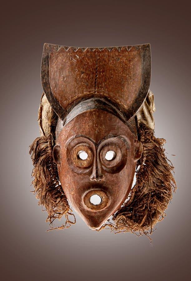 африканская изолированная маска стоковое изображение