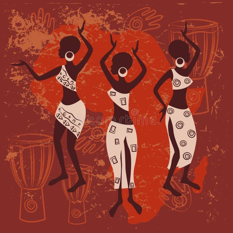Африканская конструкция иллюстрация штока