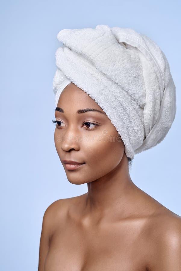Африканская красотка женщины стоковое фото rf