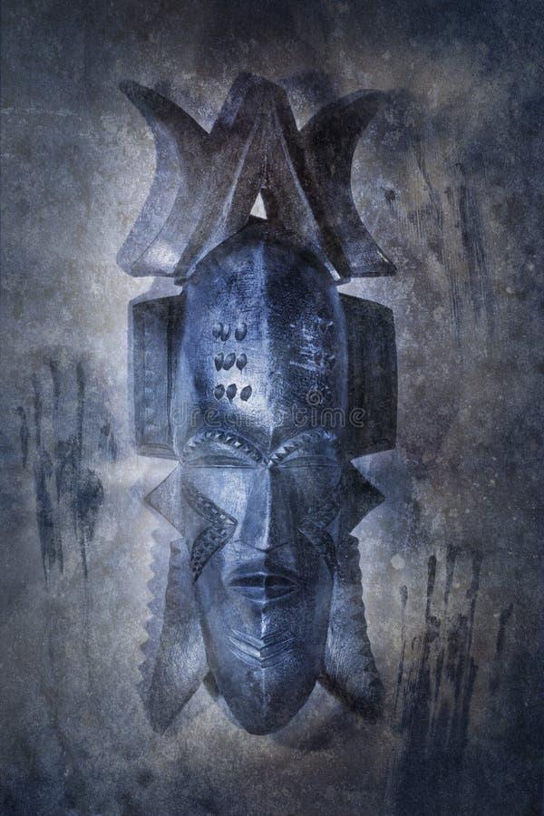 Африканская маска Voodoo стоковое изображение