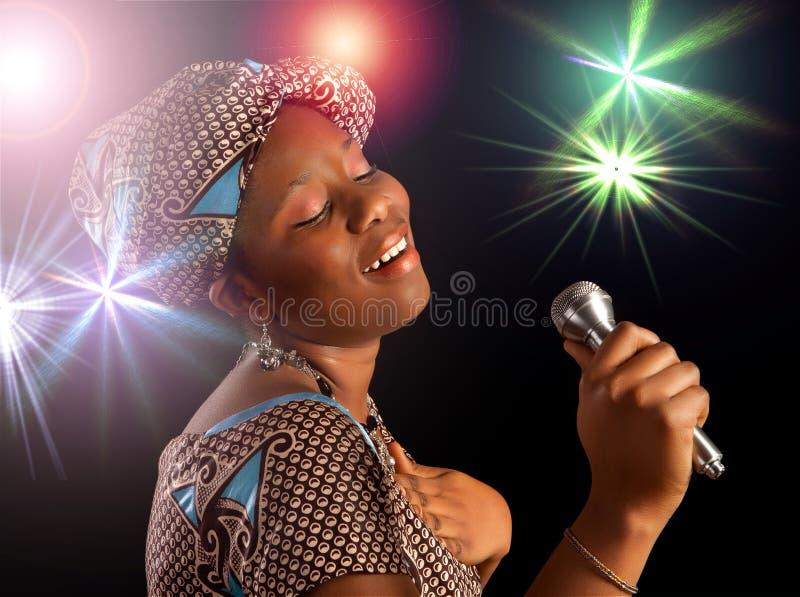 африканская пея женщина стоковая фотография