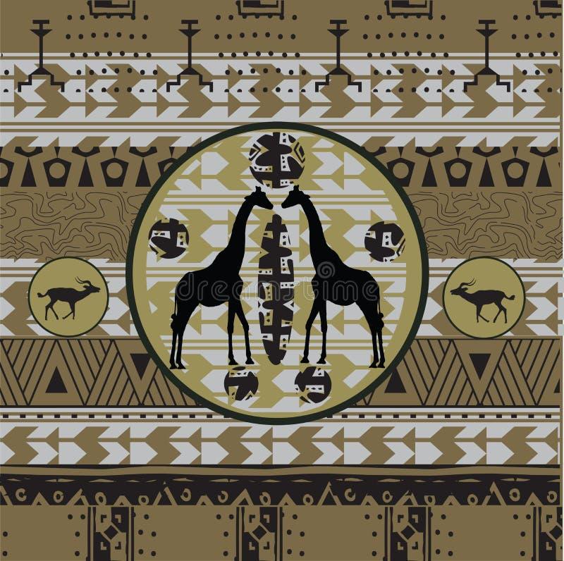 африканская предпосылка бесплатная иллюстрация