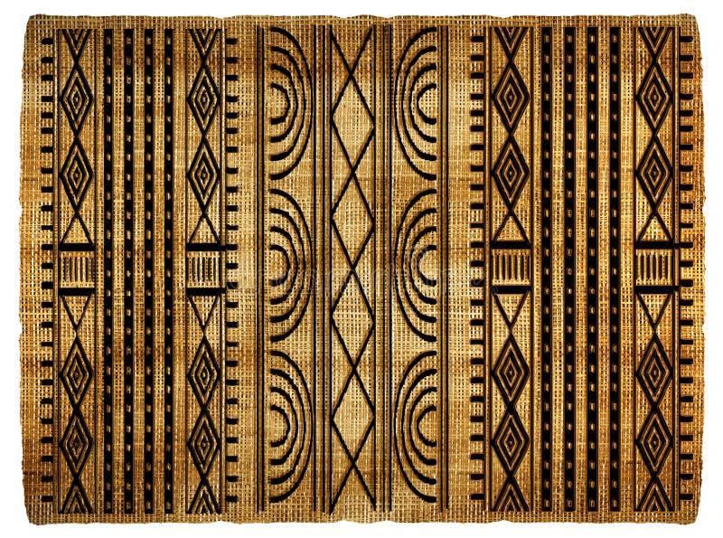 Африканская предпосылка иллюстрация штока