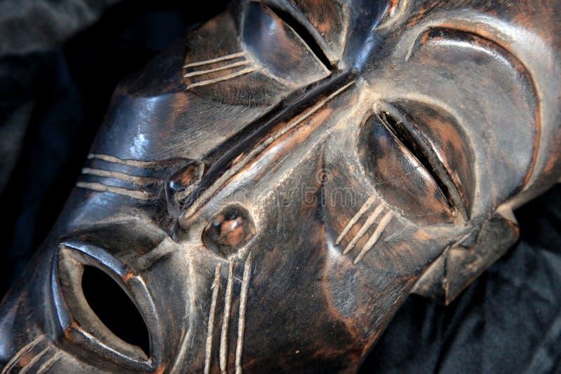 Африканская соплеменная маска - триба Chokwe стоковая фотография