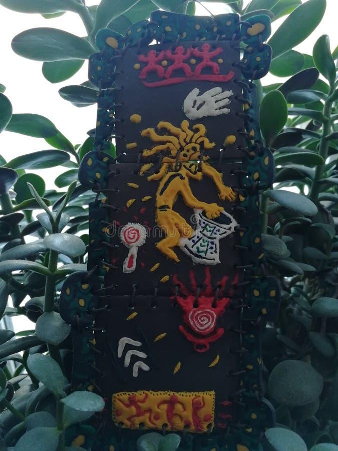 Африканские мотивы в современном искусстве стоковые изображения rf