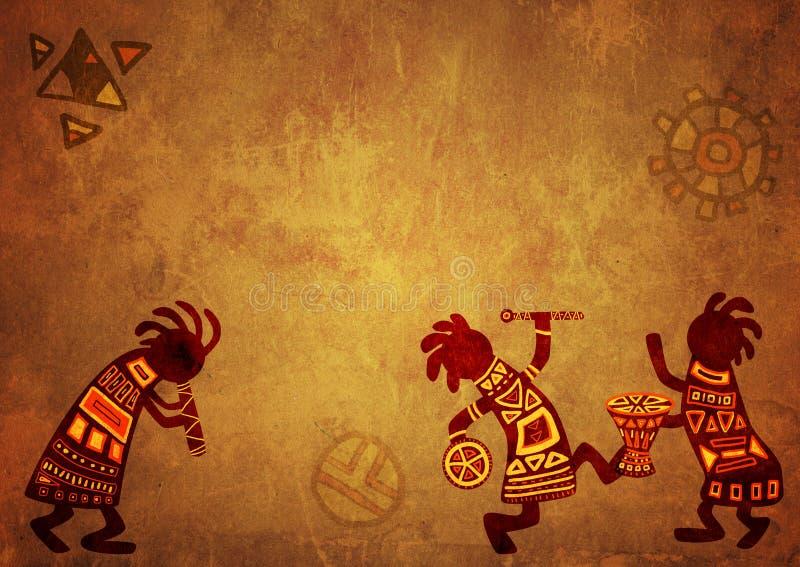 африканские национальные картины бесплатная иллюстрация