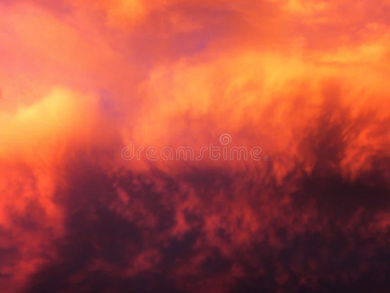 Африканские небеса 4 стоковые изображения