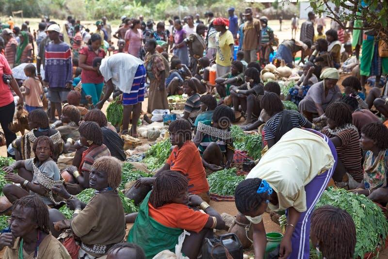 Африканский рынок стоковые изображения