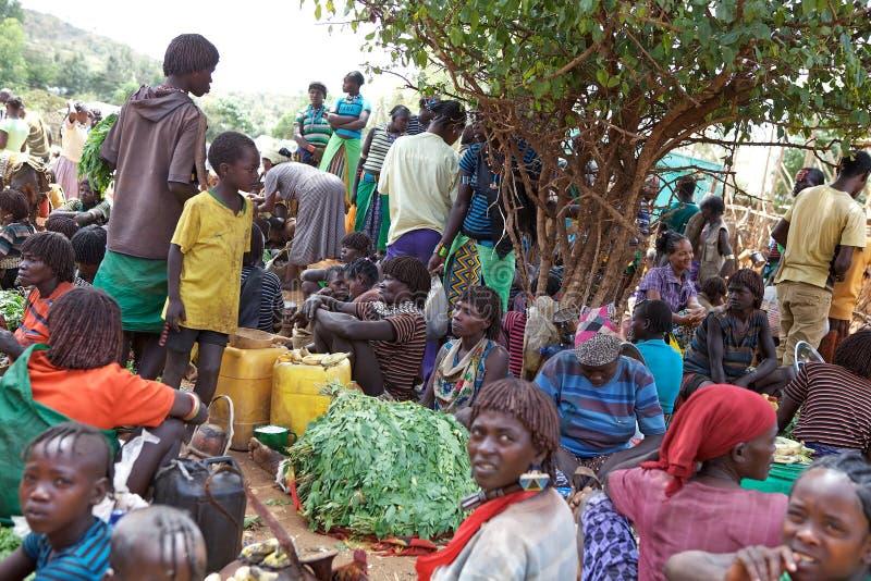 Африканский рынок стоковые фотографии rf