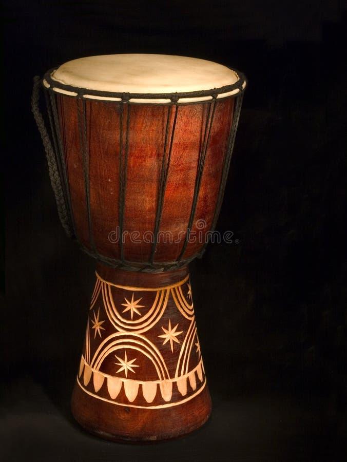 африканский барабанчик стоковое фото rf