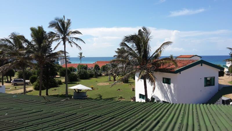Африканский городок в Мозамбике стоковое фото