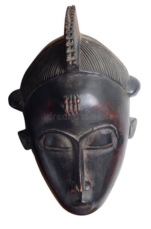 Африканский лицевой щиток гермошлема изолированный на белой предпосылке стоковое изображение