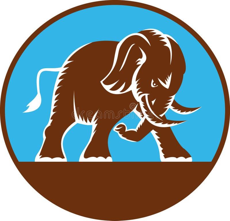 африканский поручая слон бесплатная иллюстрация