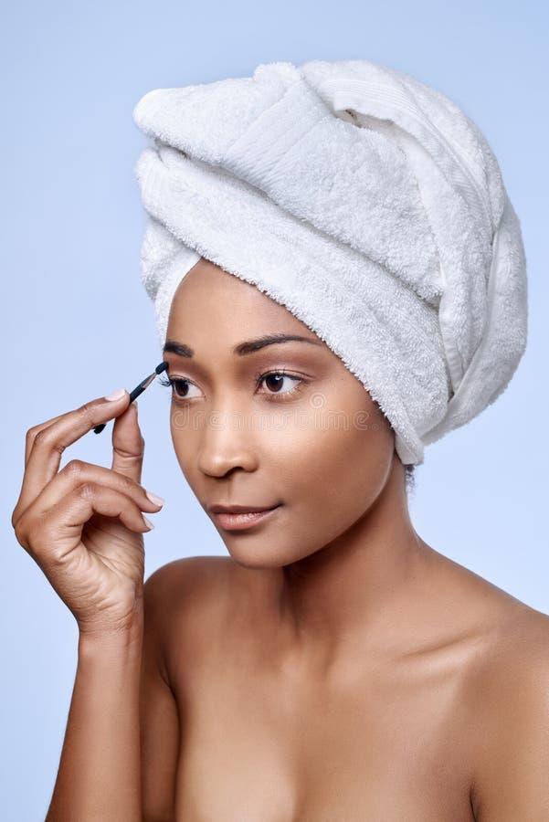 Африканский применяться женщины составляет стоковые изображения