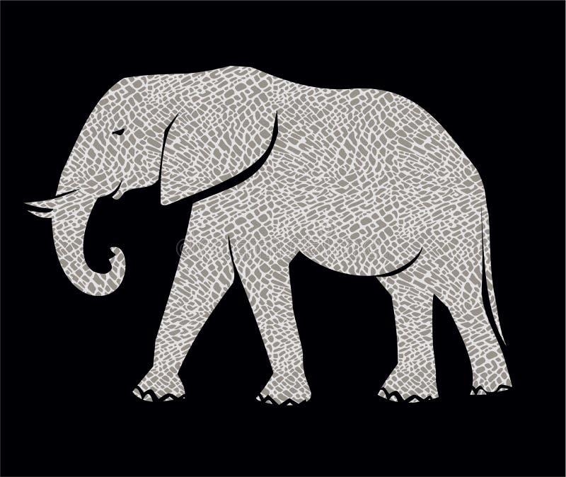 африканский слон иллюстрация вектора