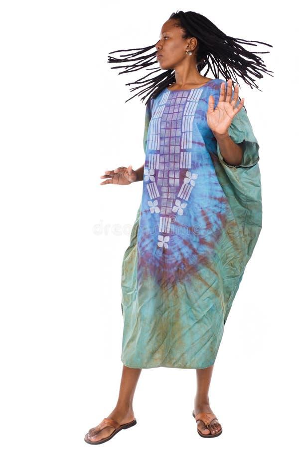 африканский танцор стоковые изображения