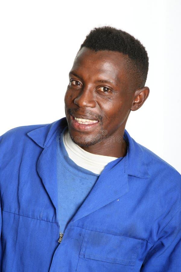 африканский усмехаться человека стоковое изображение rf