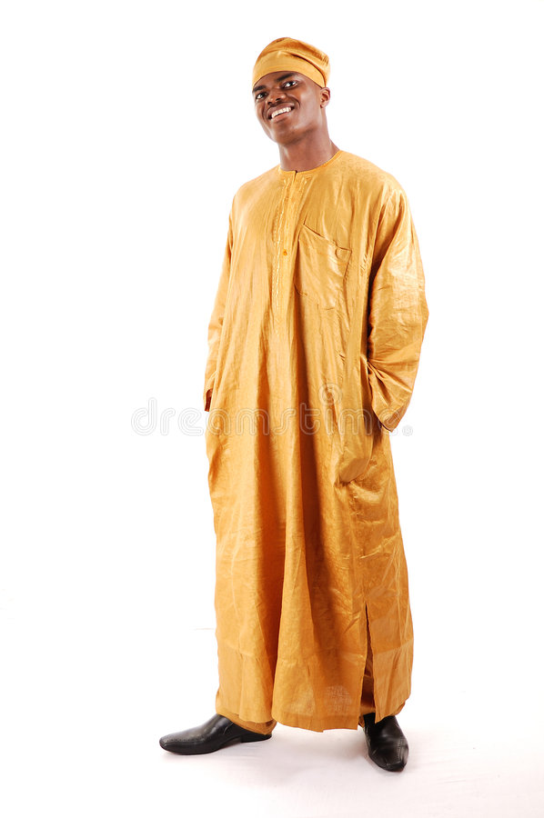 африканский человек стоковое фото