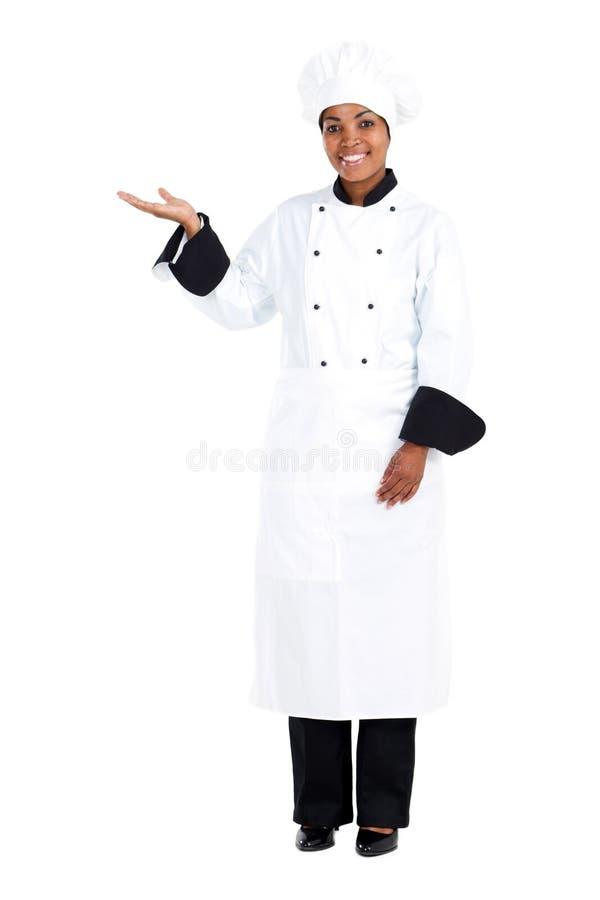 африканский шеф-повар стоковое фото