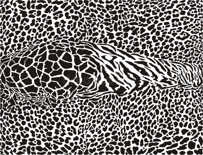 Африканской предпосылка напечатанная картиной бесплатная иллюстрация