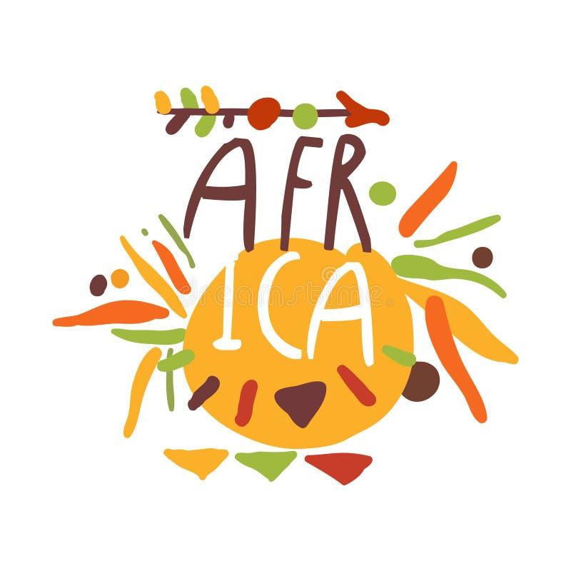 Африканской этнической орнамент нарисованный рукой с стрелкой бесплатная иллюстрация