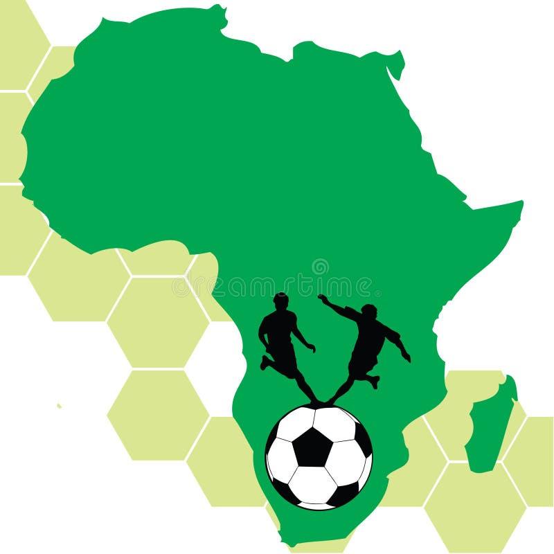 Африка 2010 южная иллюстрация штока