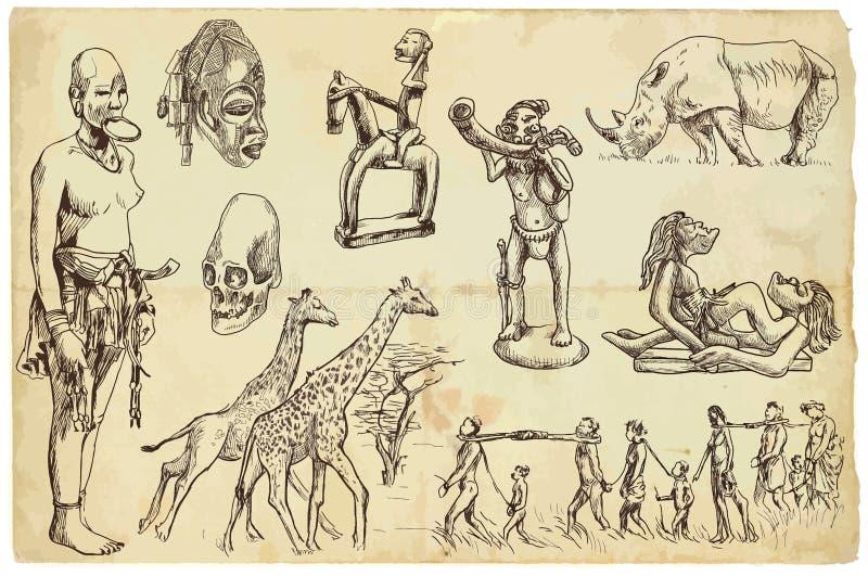 Африка иллюстрация вектора