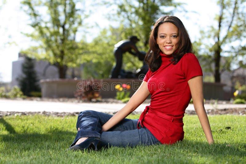 афроамериканец beaty стоковое фото