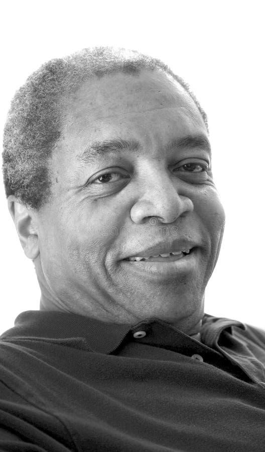Афро-американские мужские выражения стоковое фото rf