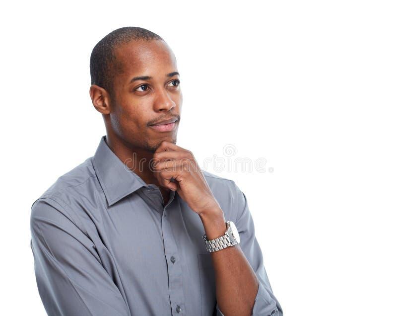 Афро-американский бизнесмен стоковое изображение