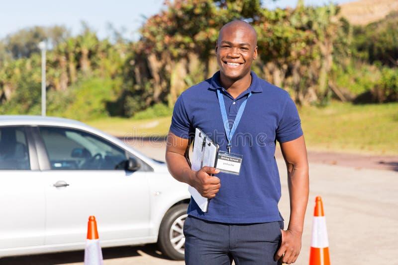 Афро-американский инструктор стоковые фото