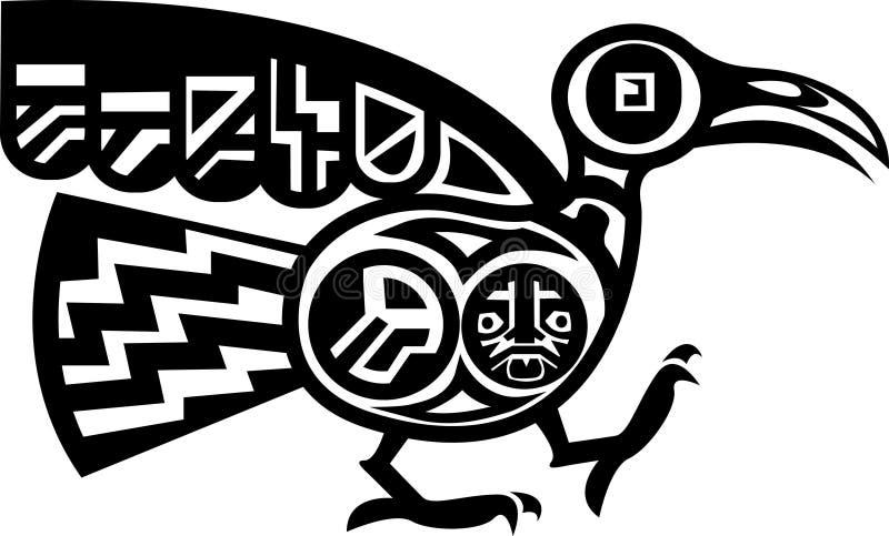 ацтекская птица бесплатная иллюстрация