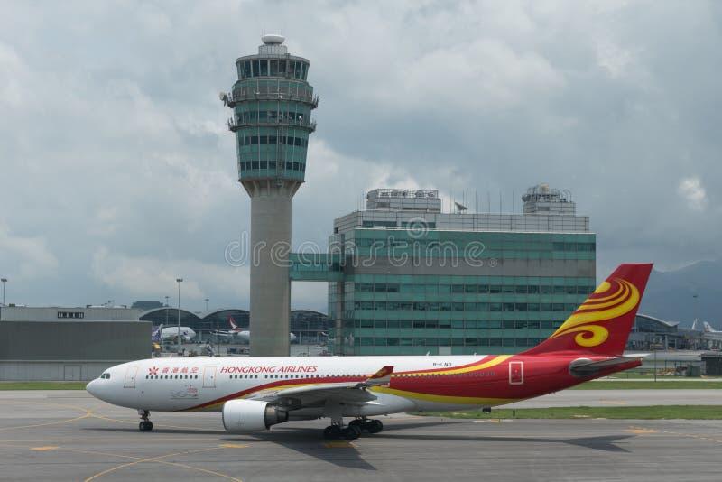 Аэробус A330 авиакомпаний Гонконга стоковое изображение