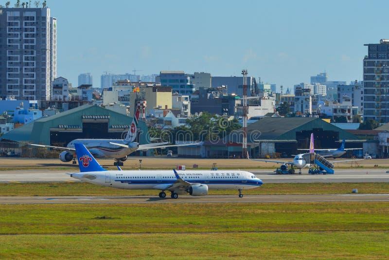Аэробус A321 China Southern Airlines стоковая фотография