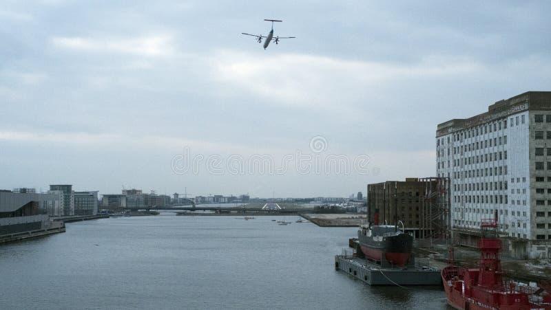 Аэропорт города Лондона, восточный Лондон стоковое фото