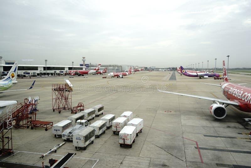 Аэропорт Дон Meung в Бангкоке, Таиланде стоковое изображение rf