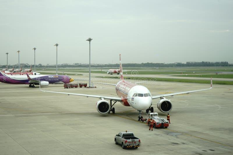 Аэропорт Дон Meung в Бангкоке, Таиланде стоковые изображения rf