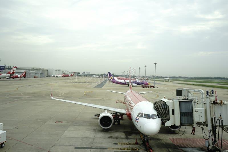 Аэропорт Дон Meung в Бангкоке, Таиланде стоковая фотография rf