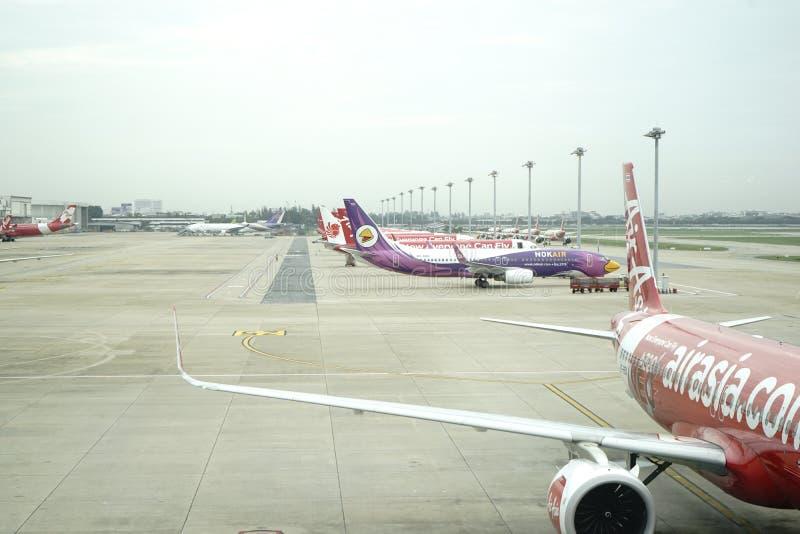 Аэропорт Дон Meung в Бангкоке, Таиланде стоковые фото